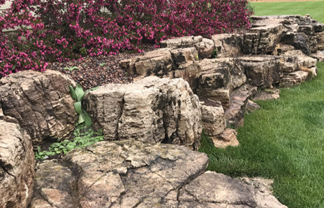 ... companies may not be able to do, including stone stairways, dry creek  beds, meandering pathways, retaining walls, sidewalks, patios and paver  driveways. - Services - Lawn Perfection